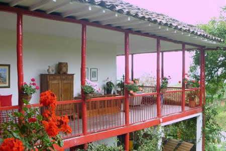 balcon casa cafetera