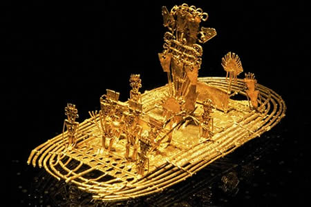 muisca raft gold museum