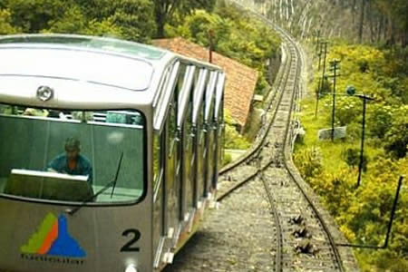 full day city tour monserrate transport